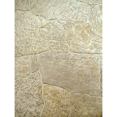 DPI 4 Ft. x 8 Ft. x 1/4 In. Tan Newcastle Stone Wall Paneling