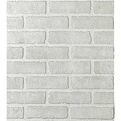 DPI 4 Ft. x 8 Ft. x 1/4 In. White Brick Bianco Wall Paneling
