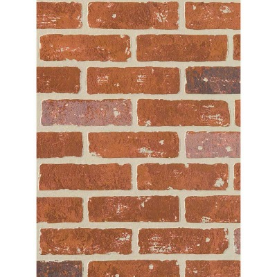 DPI 4 Ft. x 8 Ft. x 1/4 In. Red Brick Carriage House Wall Paneling
