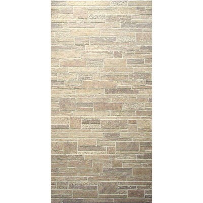 DPI 4 Ft. x 8 Ft. x 1/4 In. Beige Canyon Stone Wall Paneling