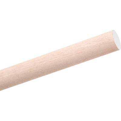 Waddell 1/2 In. x 48 In. Hardwood Dowel Rod