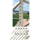 Atlantis Rail System RailEasy 5/32 In. Dia. Stainless Steel Cable Tensioner (10-Pack) Image 1
