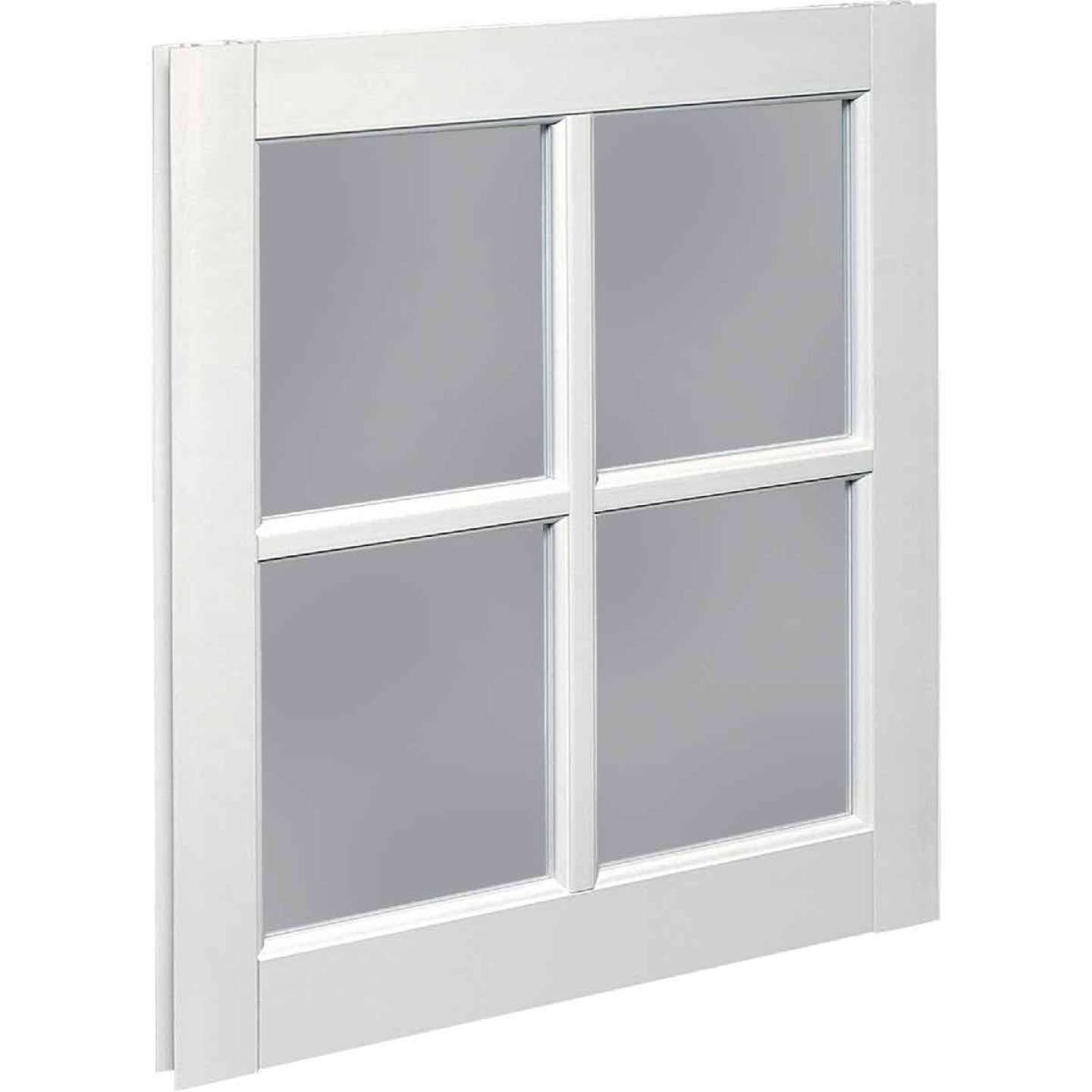 Northview Window 22 In. x 29 In. PVC 4-Lite Barn Sash Image 1