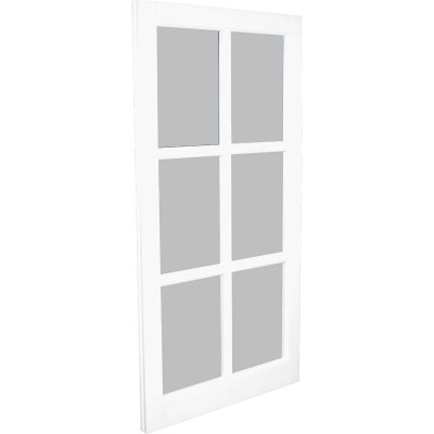 Northview Window 22 In. x 41-5/16 In. PVC 6-Lite Barn Sash