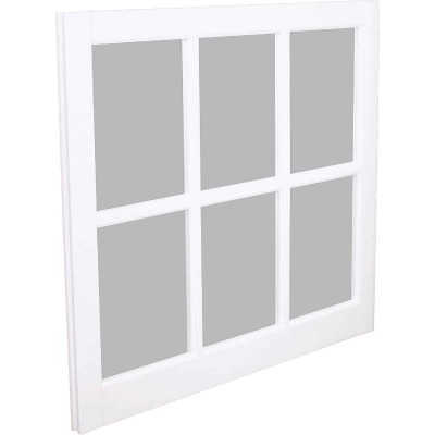 Northview Window 31-5/16 In. x 29 In. PVC 6-Lite Barn Sash