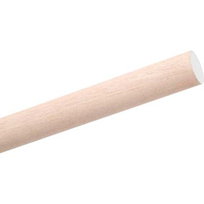 Waddell 1/2 In. x 36 In. Hardwood Dowel Rod