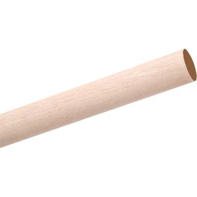 Waddell 5/8 In. x 36 In. Hardwood Dowel Rod