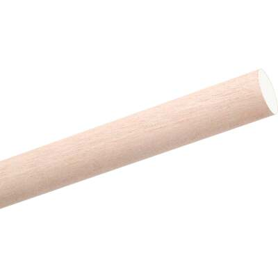 Waddell 1/2 In. x 72 In. Hardwood Dowel Rod