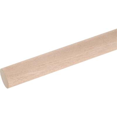 Waddell 1 In. x 72 In. Hardwood Dowel Rod