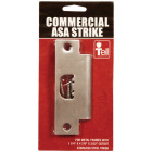 Tell Satin Stainless Steel 1-1/4 In. ASA Strike Plate Image 2