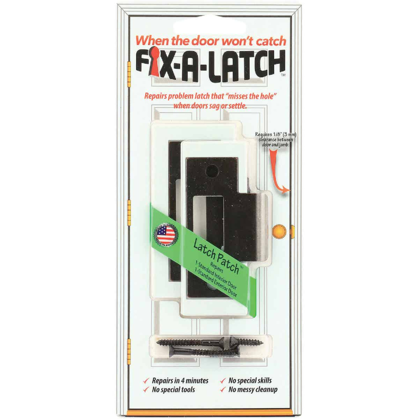 Prime-Line Fix-A-Latch Bronze Repair Kit (2 Pack) Image 2