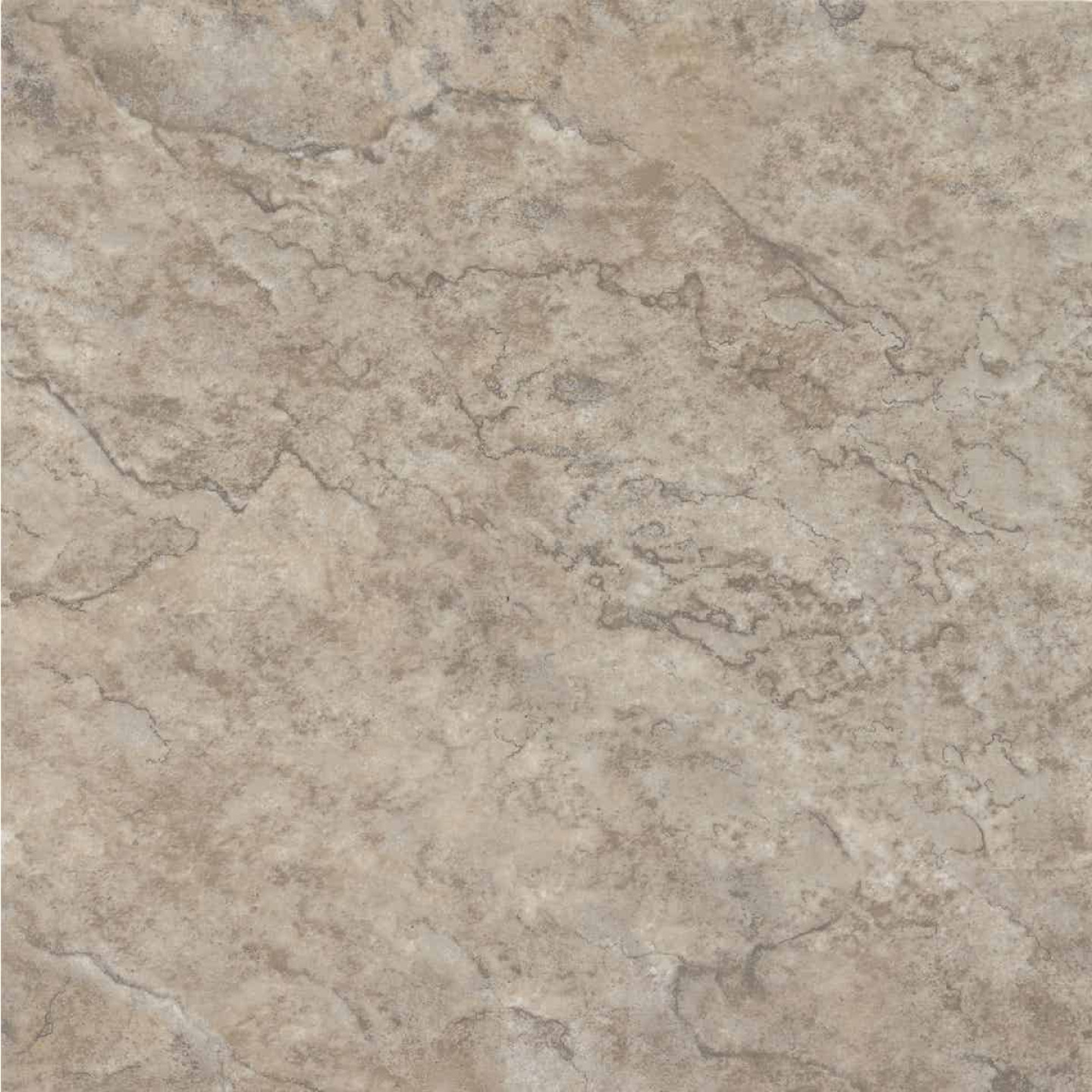 Armstrong Units Collection Ridgeway II Beige 12 In. x 12 In. Vinyl Floor Tile (45 Sq. Ft./Box) Image 1