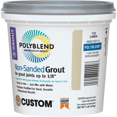 Custom Building Products Polyblend 1 Lb. Linen Non-Sanded Tile Grout