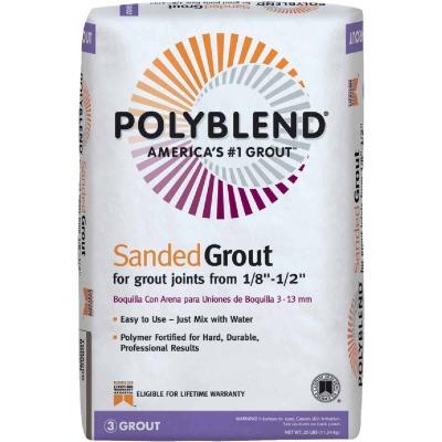 Custom Building Products Polyblend  25 Lb. Haystack Sanded Tile Grout