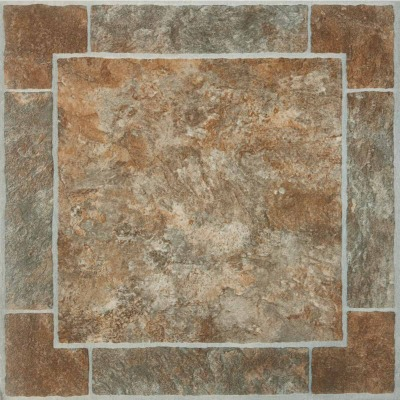 Home Impressions Venetian Paver 12 In. x 12 In. Vinyl Floor Tile (45 Sq. Ft./Box)