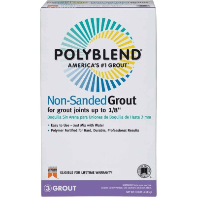 Custom Building Products Polyblend 10 Lb. Nutmeg Brown Non-Sanded Tile Grout