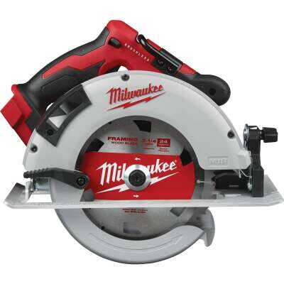 Milwaukee M18 18 Volt Lithium-Ion Brushless 7-1/4 In. Cordless Circular Saw (Bare Tool)