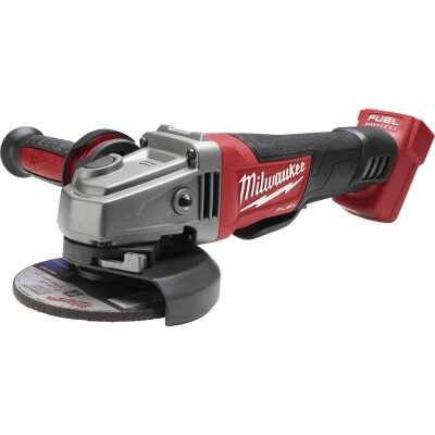 Milwaukee M18 FUEL 4-1/2 In. / 5 In. Grinder Paddle Switch, No-Lock Grinder