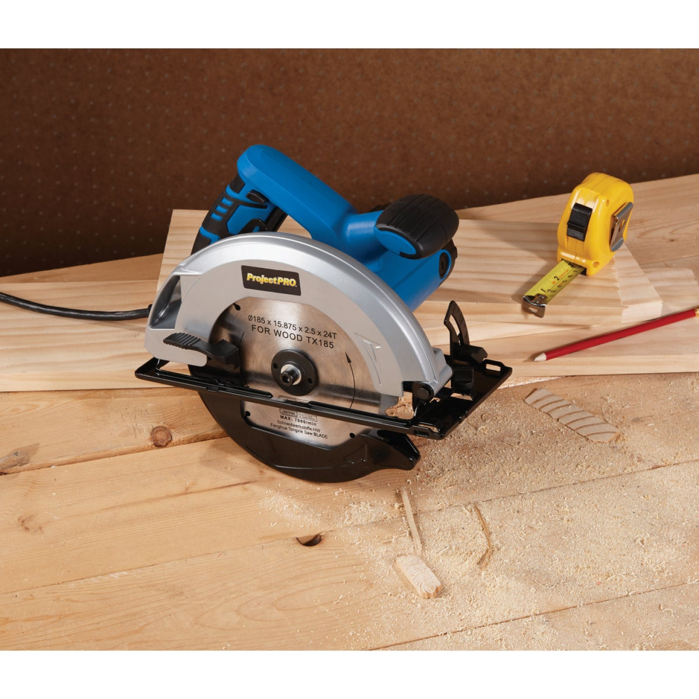 Project Pro 7-1/4 In. 12-Amp Circular Saw Image 2