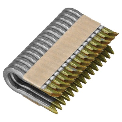 DeWalt 1-1/2 In. 9 Ga. Galvanized Barbed Collated Fence Staple (960-Ct.)