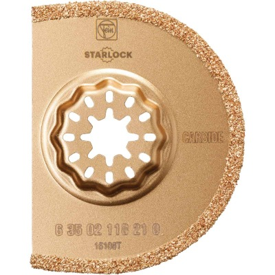 Fein Starlock 2-1/2 In. Carbide Grout Oscillating Blade