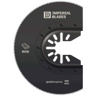 Imperial Blades ONE FIT 3-1/2 In. 12 TPI Speartooth Fast Cut Wood Oscillating Blade Image 1