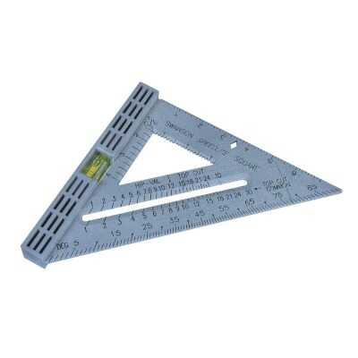 Swanson Speedlite 8 In. Plastic Rafter Square with Level