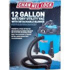 Channellock 12 Gal. 5.0-Peak HP Wet/Dry Vacuum with Blower Image 4