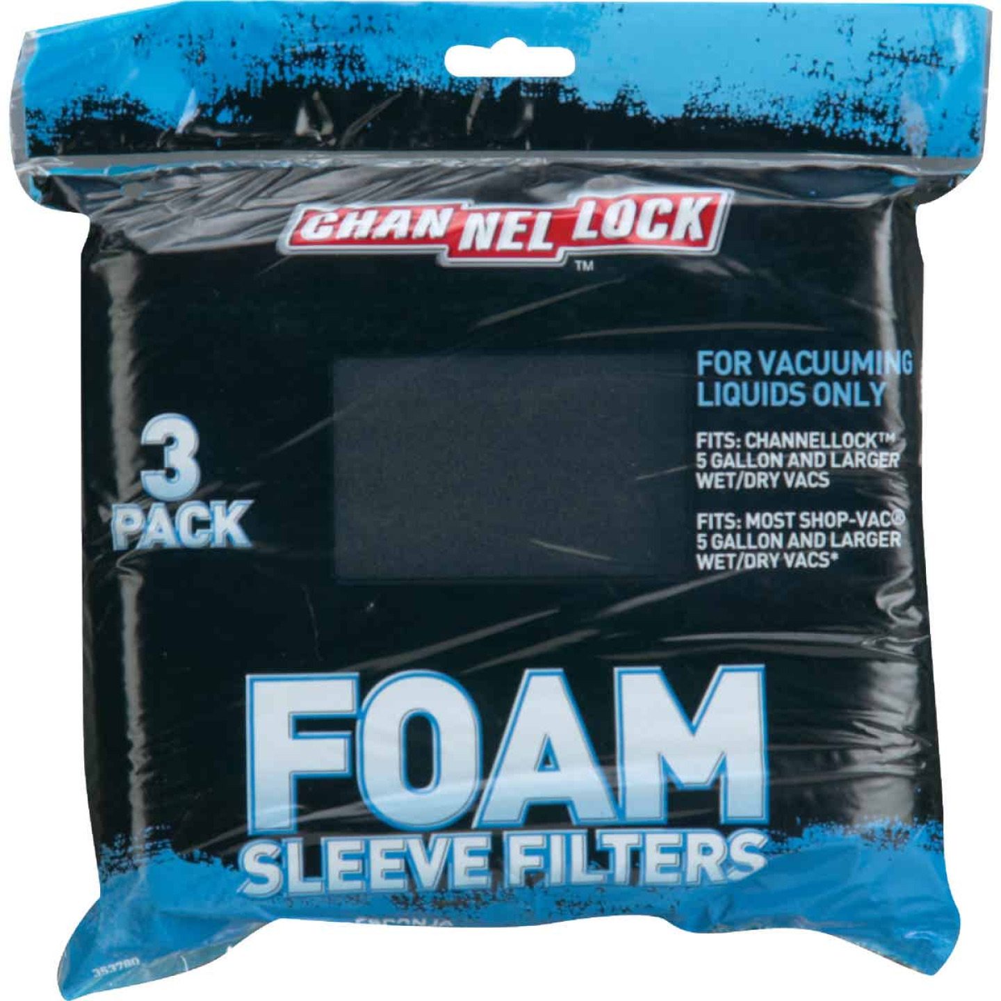 Channellock Foam Standard 5 to 16 Gal. Vacuum Filter Image 2