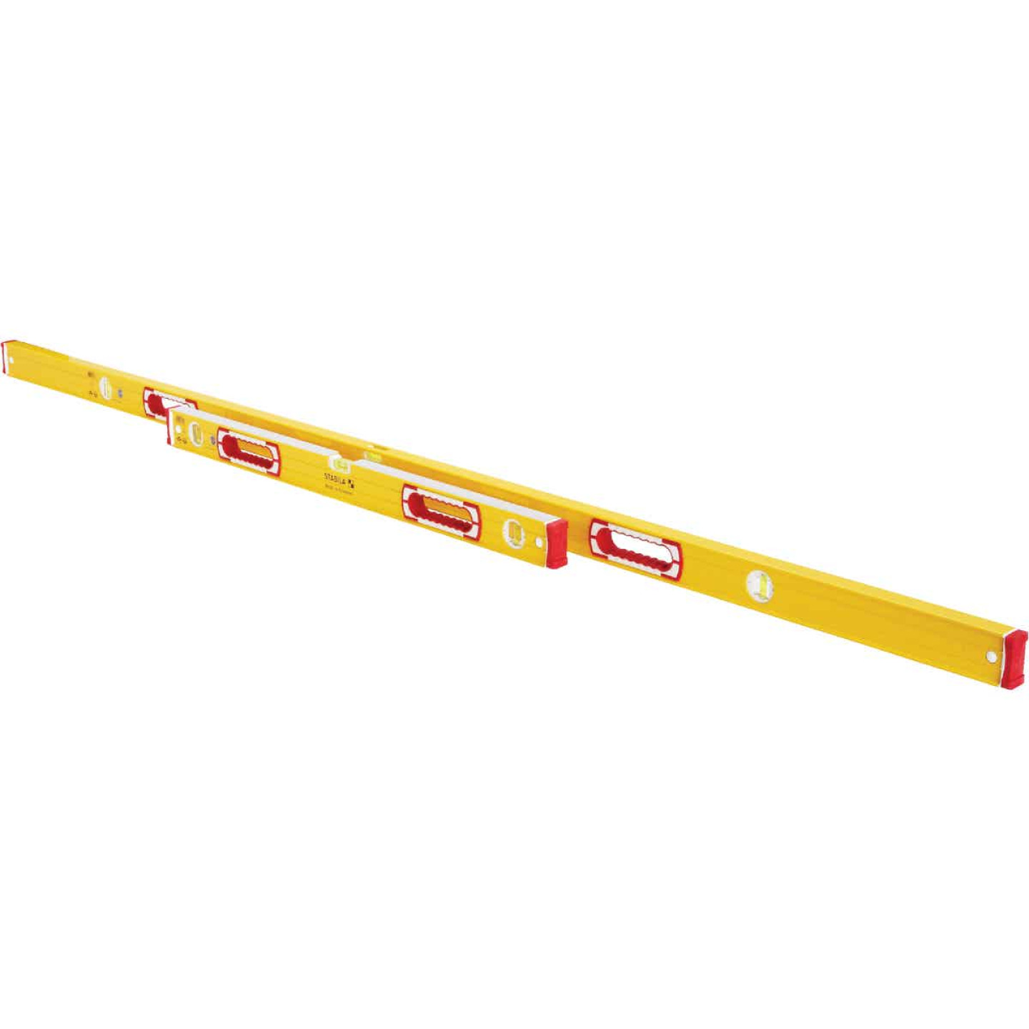 Stabila 78 In. Aluminum Jamber Box Level & 24 to 40 In. Extendable Level Set Image 3