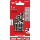 Milwaukee Shockwave Metric Impact Drill Tape Bit Set (5-Piece) Image 1
