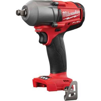 Milwaukee M18 FUEL 18 Volt Lithium-Ion Brushless 1/2 In. Mid-Torque Impact Wrench w/Friction Ring (Bare Tool)