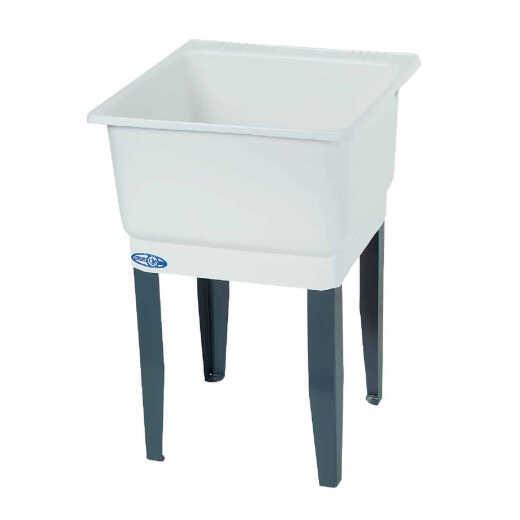 Mustee Utilatub 21 Gallon 23 In. W x 25 In. L CoPolypure Laundry Tub