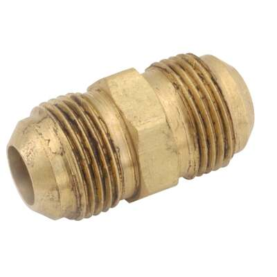 Anderson Metals 3/8 In. Brass Full Flare Union