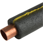 Tundra 1/2 In. Wall Self-Sealing Polyethylene Pipe Insulation Wrap, 3/4 In. x 3 Ft. (4-Pack) Fits Pipe Size 3/4 In. Copper / 1/2 In. Iron Image 1