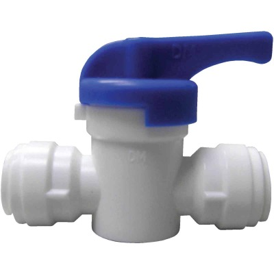 Watts 3/8 In. OD Straight Stop Plastic Plastic Push Valve