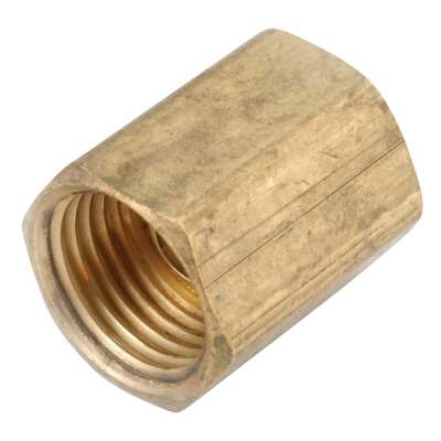 Anderson Metals 1/4 In. Brass Inverted Flare Union