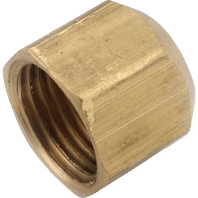 Anderson Metals 5/8 In. Brass Flare Cap