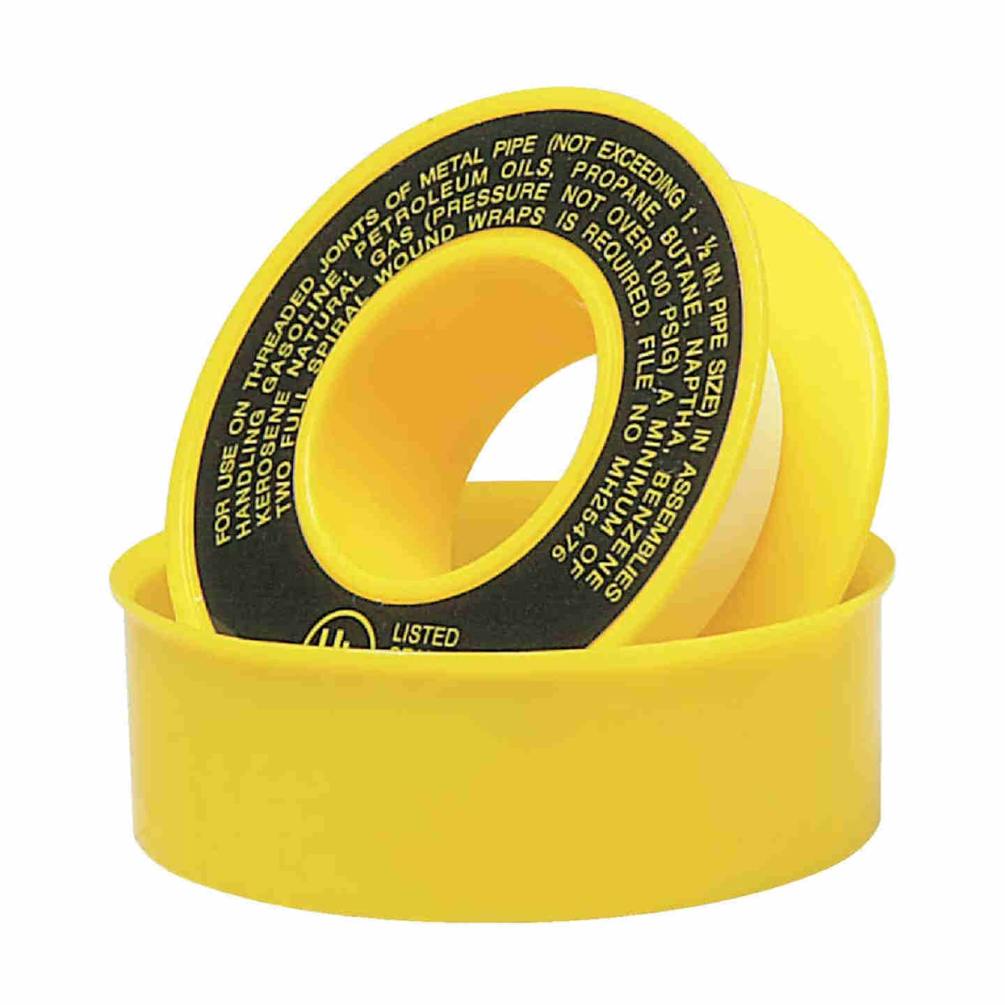Do it 1/2 In. x 260 In. Yellow Thread Seal Gas Line Tape Image 1