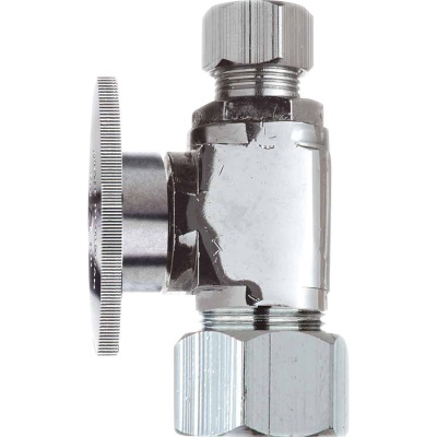 Do it 3/8 In. OD Tube x 3/8 In. OD Tube Quarter Turn Straight Valve