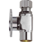 Do it 1/2 In. Sweat x 3/8 In. Compression Quarter Turn Straight Valve Image 1