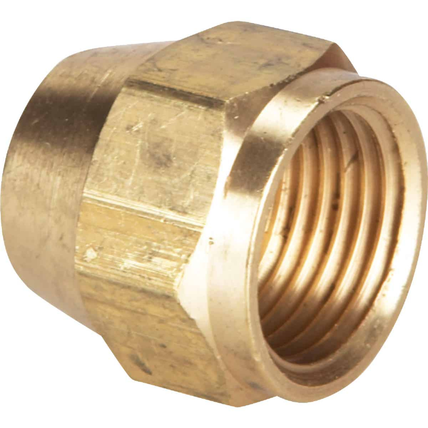 Do it 3/8 In. Brass Lead Flare Cap Image 1