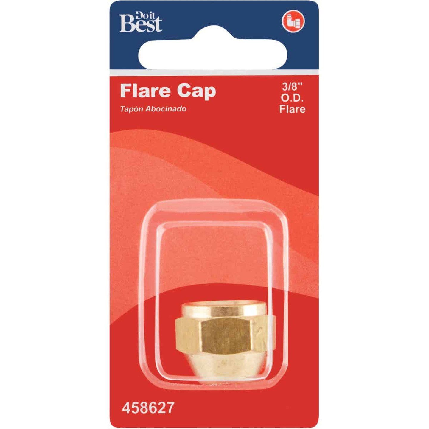 Do it 3/8 In. Brass Lead Flare Cap Image 2