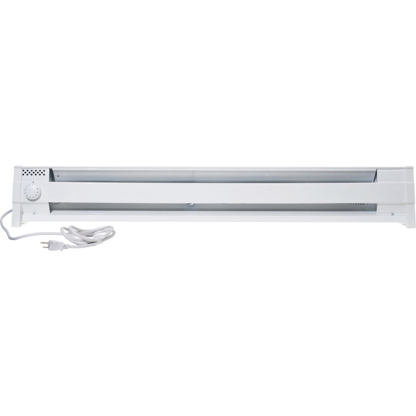 Cadet 49 In. 1500-Watt 120-Volt Portable Electric Baseboard Heater, White Image 1