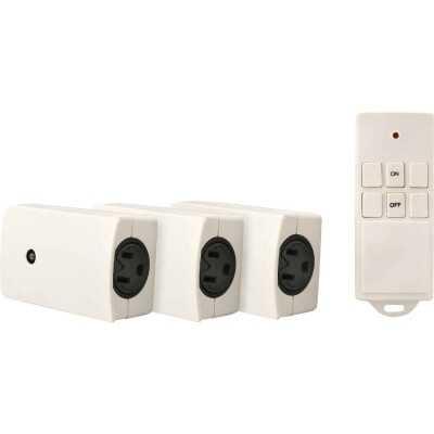 Woods 66 Ft. Range 12V 1625W Resistive/1000W Tungsten Remote Wireless Switch