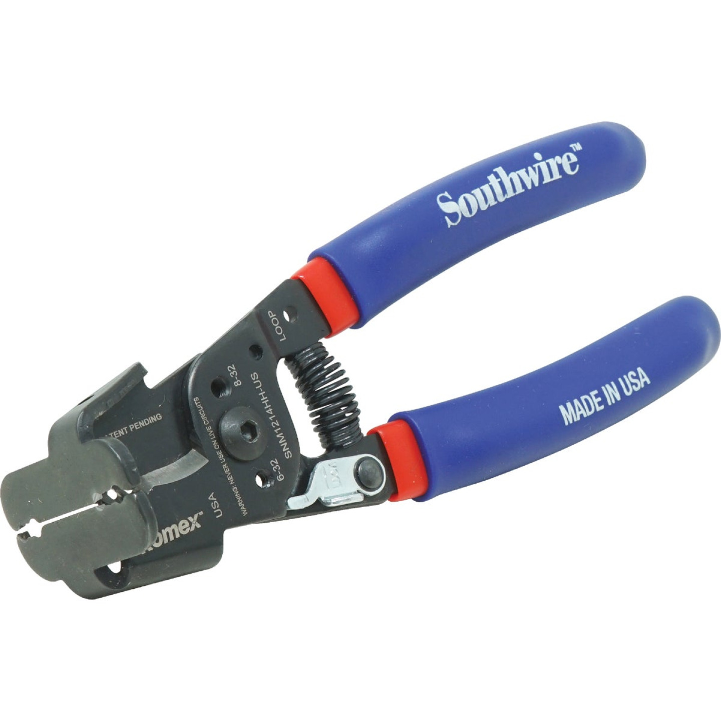Southwire 9-1/2 In. 12 AWG to 14 AWG Romex Box Jaw Wire Stripper Image 1