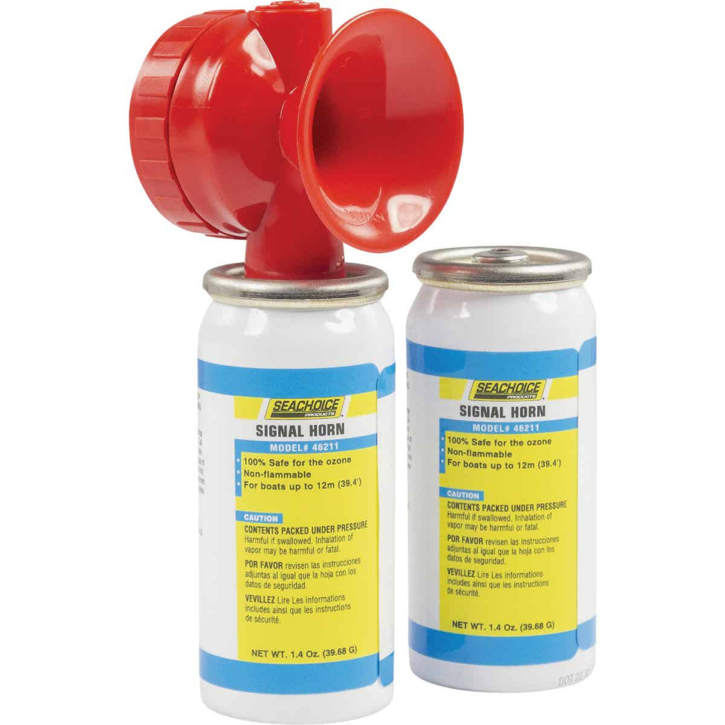 Seachoice 115 dB Mini Air Horn Kit (2-Pack) Image 1