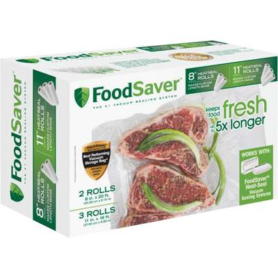 FoodSaver Make Your Own Vacuum Sealer Bags (5-Pack)
