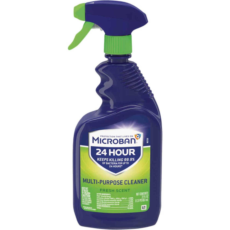 Microban 22 Oz. Fresh Scent Multi-Purpose Disinfectant Cleaner Image 1