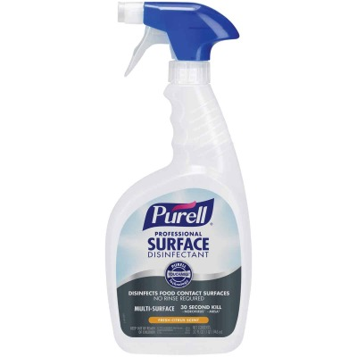 Purell Professional Surface Disinfectant Spray (6 Pack with 2 Trigger Sprayers)
